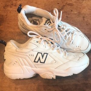 🍋New Balance 608 white/blue dad shoes sneakers